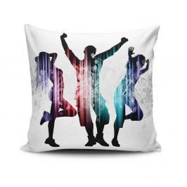 Polštář s příměsí bavlny Cushion Love Trio, 45 x 45 cm