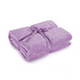Šeříkově fialová deka z mikrovlákna DecoKing Henry, 70x150cm
