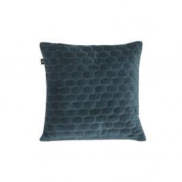 Modrý polštář se sametovým povrchem PT LIVING, 35x35cm