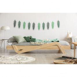 Dětská postel z borovicového dřeva Adeko Zig, 80 x150 cm