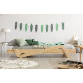 Dětská postel z borovicového dřeva Adeko Zig, 100x200 cm