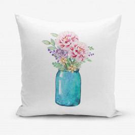 Povlak na polštář s příměsí bavlny Minimalist Cushion Covers Vazo, 45 x 45 cm