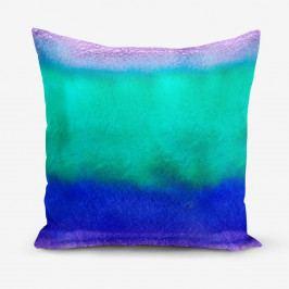 Povlak na polštář s příměsí bavlny Minimalist Cushion Covers Underwater, 45 x 45 cm