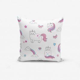 Bílý povlak na polštář Minimalist Cushion Covers Catcik, 45x45cm