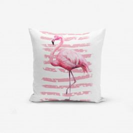 Povlak na polštář Minimalist Cushion Covers Linears Flamingo, 45x45cm