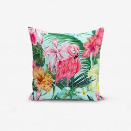 Povlak na polštář Minimalist Cushion Covers Yalnız Flamingo, 45x45cm
