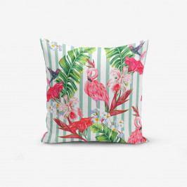 Povlak na polštář Minimalist Cushion Covers Flamingo Şerit, 45x45cm