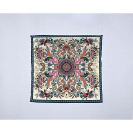 Módní šátek Madre Selva Ornamental Flowers, 55x55cm