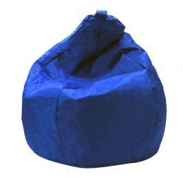 Modrý sedací vak Evergreen House Droplet