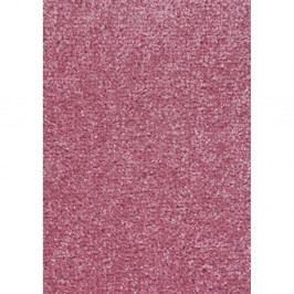 Růžový koberec Hanse Home Nasty, 133 x 133 cm