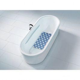 Tmavě modrá protiskluzová koupelnová podložka Wenko Hanna Dark Blue, 70x40cm
