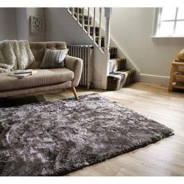 Šedý koberec Flair Rugs Serenity Silver, 120 x 170 cm