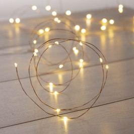 Světelný LED řetež v bílé barvě DecoKing Chain, délka10,3m