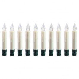 Sada 10 světelných svíček na strom DecoKing Blinx