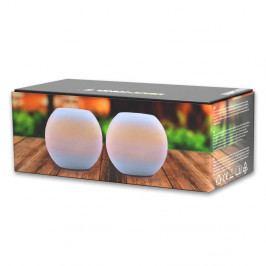Sada 2 světelných svíček DecoKing Bowl