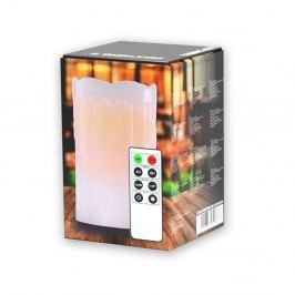Světelná svíčka s dálkovým ovladačem DecoKing Subtle Sweet, výška 12,5 cm