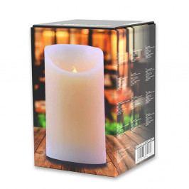 Světelná svíčka DecoKing Subtle Celebration, výška 12,5 cm