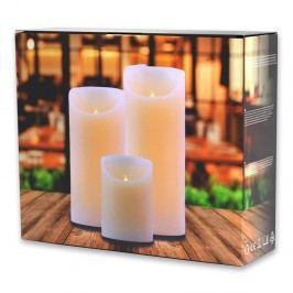 Sada 3 světelných svíček DecoKing Subtle Sweet