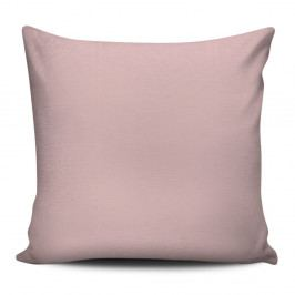 Růžový polštář s výplní Fridrich, 43 x 43 cm