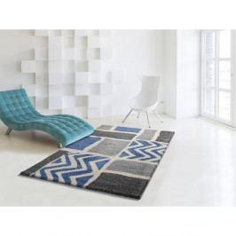 Šedo-modrý koberec vhodný i na ven Universal Kasbah Grey, 160 x 230 cm