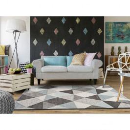 Šedo-modrý koberec vhodný i na ven Universal Naia Blue, 80 x 150 cm