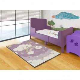 Fialový dětský koberec vhodný i na ven Universal Toys Lilac, 120 x 170 cm