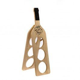 Dřevěný stojan na lahve vína Dakls Wine Time