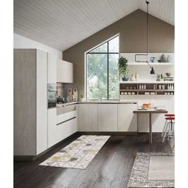 Běhoun Floorita Palette Multi, 60 x 240 cm