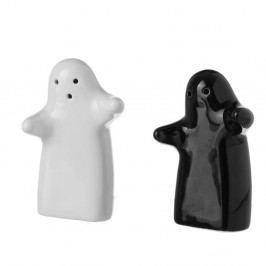 Set pepřenky a solničky z keramiky Unimasa Ghosts