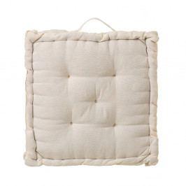 Béžový polštář/podsedák z bavlny Unimasa, 45 x 45 cm