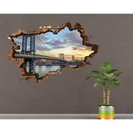 Nástěnná samolepka 3D Art Silke, 70x45cm