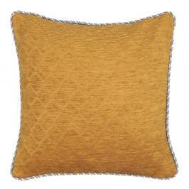 Oranžovo-šedý oboustranný polštář Kate Louise Garro, 45 x 45 cm