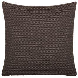 Hnědý oboustranný polštář Kate Louise Parmio, 45 x 45 cm