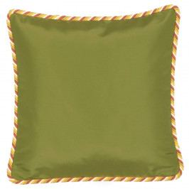 Zeleno-žlutý oboustranný polštář Kate Louise Farso, 45 x 45 cm