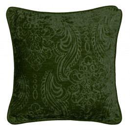 Tmavě zelený polštář Kate Louise Exclusive Ranejo, 45 x 45 cm