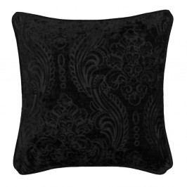 Černý polštář Kate Louise Exclusive Ranejo, 45 x 45 cm