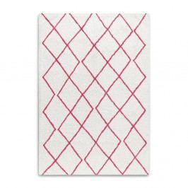 Červenobílý ručně tkaný koberec z bavlny HF Living Morocco, 120 x 170 cm