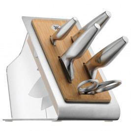 Sada 4 nožů, nůžek a kuchyňského bloku WMF Chef´s Edition