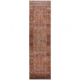 Červenorůžový běhoun Safavieh Lulu Vintage, 243x 68 cm