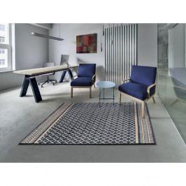 Modrý koberec vhodný i na ven Universal Sofie Blue Marro, 135 x 190 cm