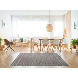 Šedý koberec vhodný i na ven Universal Sofie Silver Marro, 80 x 150 cm