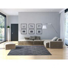 Modrý koberec vhodný i na ven Universal Sofie Blue, 135 x 190 cm