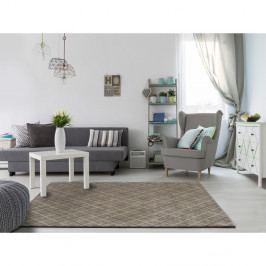 Šedý koberec vhodný i na ven Universal Sofie Silver, 80 x 150 cm