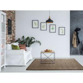 Béžový koberec Universal Benin Liso Beige, 140 x 200 cm