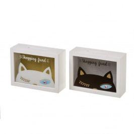 Sada 2 kasiček Unimasa Kitty,20x 7cm
