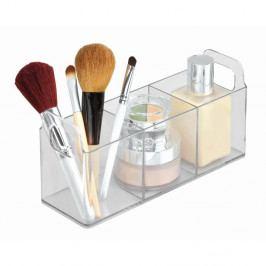 Transparentní organizér iDesign Vanity Catch, 23x7,5x10 cm