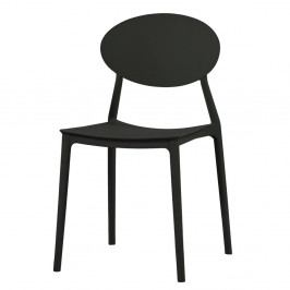 Černá jídelní židle Evergreen House Simple