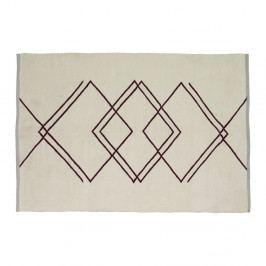 Béžový koberec Hübsch Kalimo, 120 x 180 cm