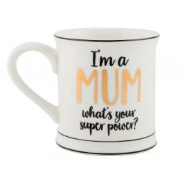 Porcelánový hrnek Sass & Belle Super Mum, 300ml