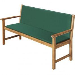 Zelený potah na lavici Fieldmann